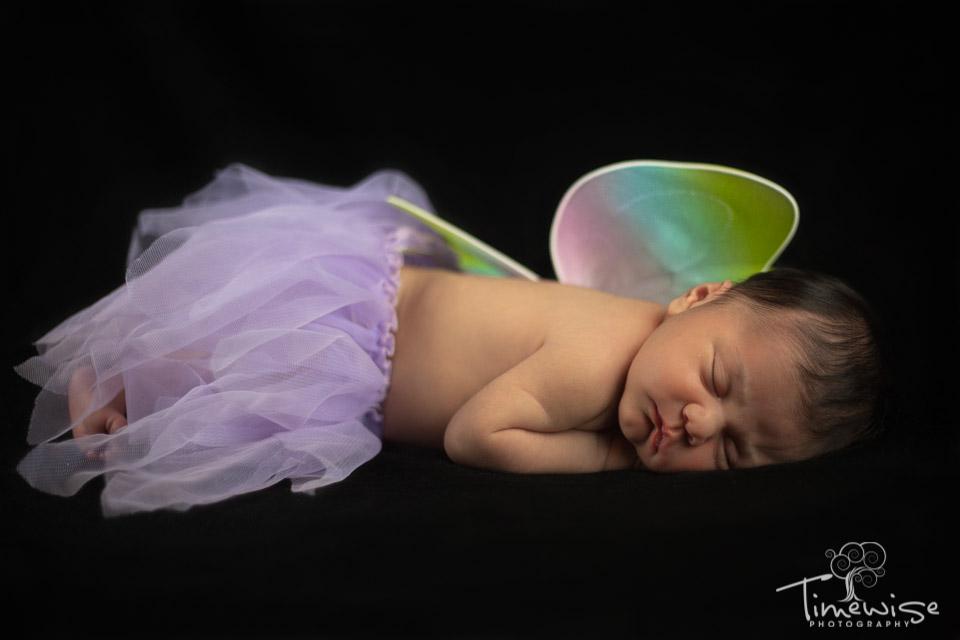 newborn in tutu